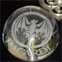 Glass Engraving - Paperweight